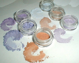 Spring Pastels Eye Shadow Collection Mineral Makeup Kit