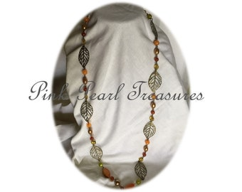 Leaves of Autumn necklace