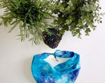 Paradise Reef - Tie Dye Boho Dog Bandana