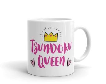 Bookish Mug/Tsundoku Queen Mug/Book Lover/Book Lover Gifts/Book Merchandise