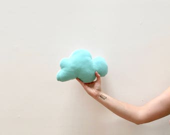 Crinkle Cloud Plush - Two Sided Flannel Toy