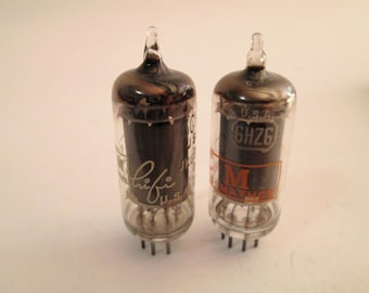 Vintage Curtis Mathes Vacuum Tube, General Electric Vacuum Tube 6GY6, 6GX6, 6HZ6 Electronic Vacuum Tube, New Old Stock, USA, Guaranteed