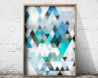 Digital Art Prints Wall Art Prints Posters Geometric Prints Digital Print Digital Download Modern Art Abstract Prints Abstract Art