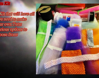 Deluxe Tutu Kit Create Your Own