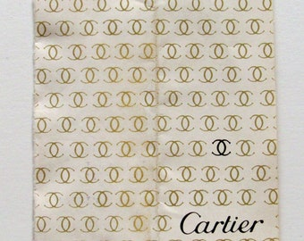 Vintage 1976 CARTIER Watch Warranty Papers One Owner