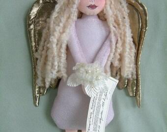 Winged Spirit Wall Hanger Art Doll no. 12