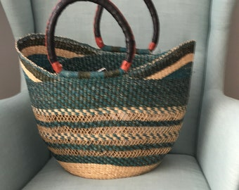 HALF PRICE SALE! Colorful Bolga baskets