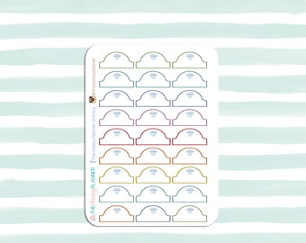 Orthodontist Stickers for your planner