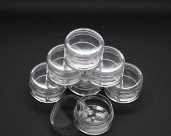 Little Acrylic Pots x 2 - A necessity for any crafter