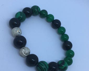 Green Galaxy Bracelet