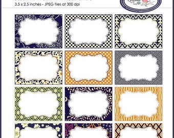 50%OFF Candy buffet label, place cards, 3.5 x 2.5 cards, printable cards, printable label, party printable, printable tag, task cards, P159