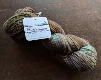 Bittersweet Yarn, Guilty Pleasures Sock Yarn - Glow Worm