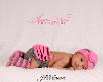 Country Rose Hat Crochet Pattern