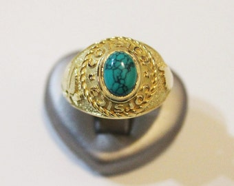 """""""CORSICA"""" made of 750 gold Signet Ring"""