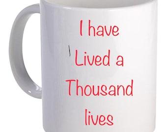 Reader inspired mug