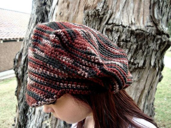 Zeitungsjunge Mütze mit Visor Crochet Newsgirl Hut Krempe