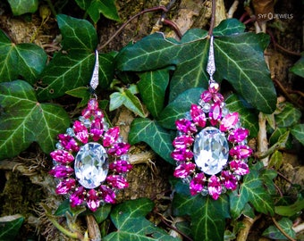 "Earrings ""Sandrina"" made with Swarovski ® elements"