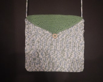 Small crocheted handbag