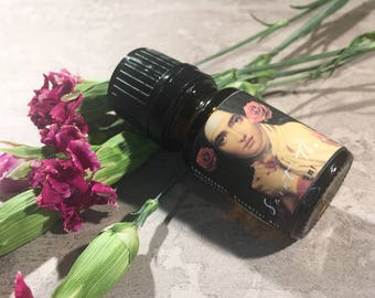 Saint Therese Oil / Saint Therese Spiritual Oil / Ritual Oil / Handmade Perfume Oil Blend / Meditation Oil