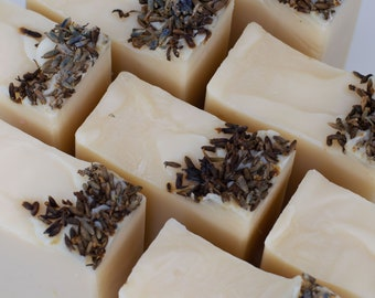 Lavender Soap - Natural Soap - Vegan Soap - Lavender Essential Oil - Artisan Soap - Handmade Soap - Soap Gift - Essential Oil Soap - Soap