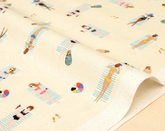 Cotton + Steel Amalfi - sun girls natural - 50cm
