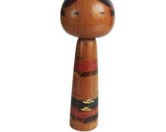 RARE Sosaku Kokeshi by SANPEI YAMANAKA. Japanese Kokeshi Doll. Vintage Kokeshi. Kokeshi Dolls. Japanese Doll. Wood Doll. Kokeshi. Japan