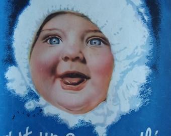 press advertising - milk baby Nestlé 1936 REF. 36679