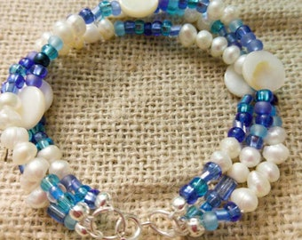 Multi-Strand Beachy Summer Bracelet