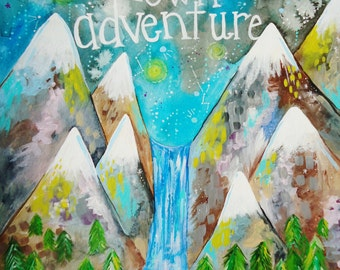 PRINT - Live Your Adventure
