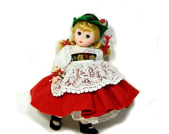 "Madame Alexander 8"" Switzerland International Doll"