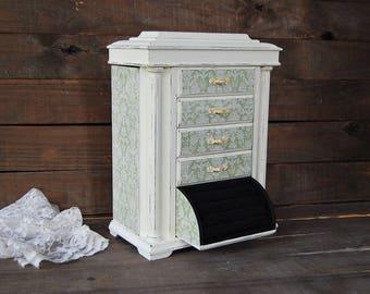 Tall jewelry box Etsy