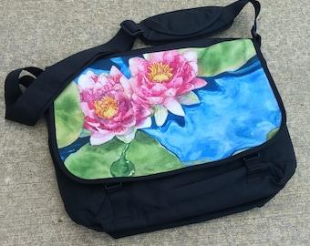 Waterlilies Messenger Bag