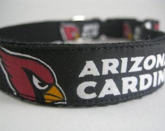Arizona Cardinals hemp dog collar or leash