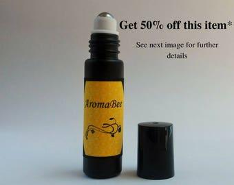 Natural perfume oil / natural perfume / vegan perfume / artisan perfume oil / alcohol free perfume / rollerball perfumes - AMBER