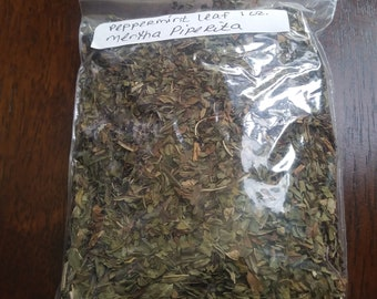 PEPPERMINT LEAVES 1OZ.- Dried Herb- Wiccan/Pagan