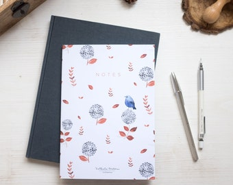 Dot grid notebook, A5 dotted grid notebook, bullet journal, bullet notebook, bullet journal notebook, dot grid journal, bujo notebook, bujo