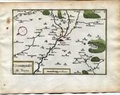 1634 Nicolas Tassin Map T...