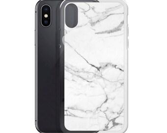 iPhone X Case, iPhone 6/6S, iPhone 7/7+ Cases ,Case iPhone 8/8+ Case White marble print