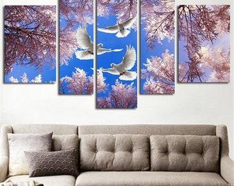Ideal Dove wall art   Etsy XZ05