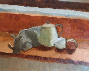 Rhinoceros and Teapot
