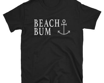 Beach Bum Shirt Love Beach Boating Sailing Shirt Anchor Shirt