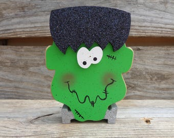 Halloween Decor - Frankenstein Decor - Fall Decor - Frankenstein shelf decor