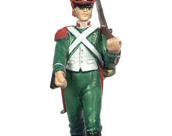 54mm scale Legion Irelandaise Infantry pewter miniature - IWG5P