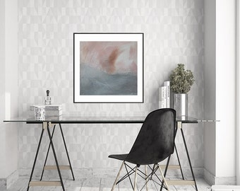 Spring Abstract Art Printable Digital Download by Karen Olson