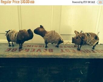 Spring Sale Primitive Dolls Animals Nail