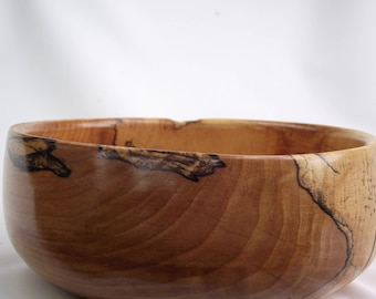 Spalted Hard Maple Bowl  #117