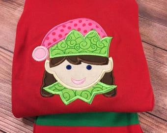 Christmas Pajamas;Christmas Eve Box;Childrens Pajamas;Holiday Pajamas;Christmas Clothes;Boutique Pajamas;Embroidered Pajamas