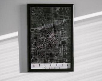 Modernized Atlanta Map