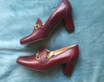 Vintage deadstock size 35 made in Italy shoes heels