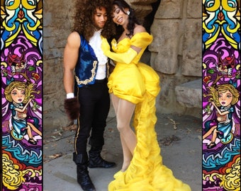 Beauty and The Beast Inspired Couples Costume